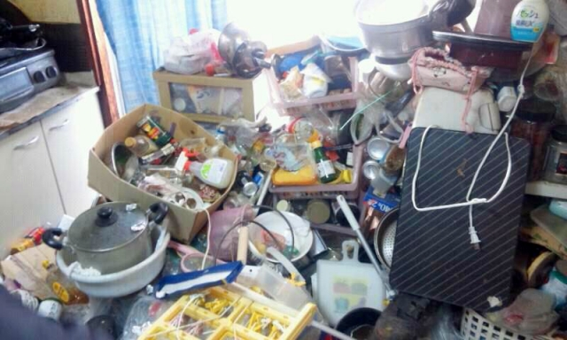 江東区のゴミ屋敷