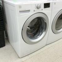 ドラム式洗濯機を設置