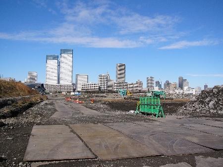 問題の築地市場移転先となる場所の2005年時の写真。撮影時は土壌汚染がどーとか全く頭にはなかったものですが…