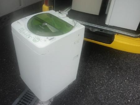 単身サイズ洗濯機を処分したい