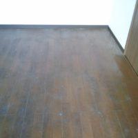 ゴミ屋敷の床